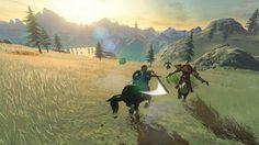 Nuevas imágenes e información de Zelda Breath of the Wild