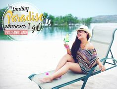 Have fun; get tan, laugh or smile in this small island called #Paradise! #badianisland #Beach #Fun #cebusouth #beautifuldestinations salesreservations@badianwellness.com Tel. no: (032) 401-3303, (032) 401-3305, (032) 475-0010
