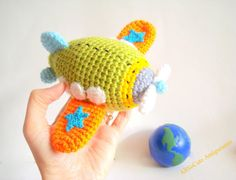PDF Crochet Pattern Airplane Pattern Instant by AllSoCute on Etsy