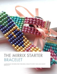 The Mirrix Starter Bracelet - Heart Pattern #mirrixpins