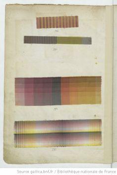 Echantillons d'étoffes et de rubans recueillis par le Maréchal de Richelieu, Taffetas 1734