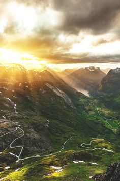 Dalsnibba Mountain, Norway