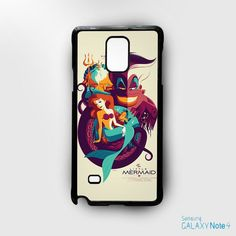 Little Mermaid Image for Samsung Galaxy Note 2/Note 3/Note 4/Note 5/Note Edge phonecases