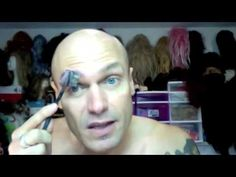 Make-Up Tutorial: Covering/Hiding/Concealing Eyebrows - drag queens have the best make-up secrets!