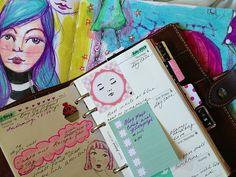 little raven ink: little update on life atm...art and the new filofax.