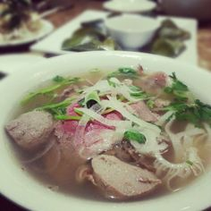Pho Photo taken at Mui Ngo Gai by Kaishin C. on 1/11/2013