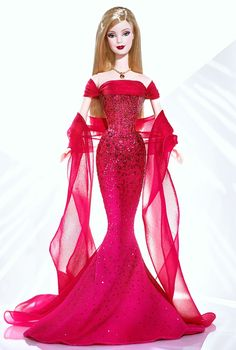 For my sister - July birthstone Ruby™ Barbie® Doll | Barbie Collector