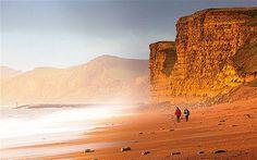 Britain's best seaside destinations - Bridport in Dorset. Places Around The World, Around The Worlds, British Seaside, Jurassic Coast, Travel Posters, Vacation Spots, Monument Valley, Beaches, Britain