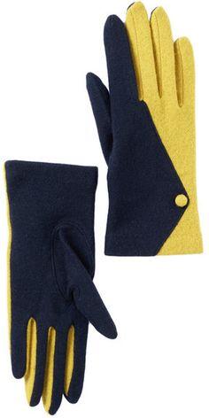 Vincent Pradier Button Gloves