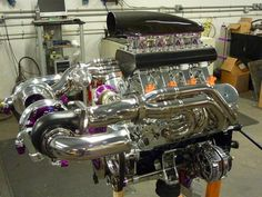 Ron Oyler's Super Sick Custom Customized in Every Way - LSX Magazine Carros Turbo, Performance Engines, Race Engines, Truck Engine, Twin Turbo, Turbo Car, Drag Cars, Mechanical Engineering, Drag Racing