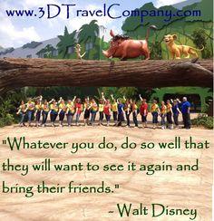 Our Inspiration - Walt Disney
