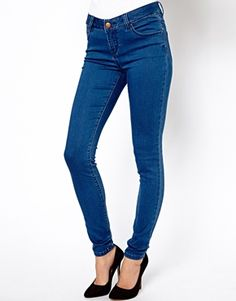 Love the wash of these jeans. ASOS $37.02