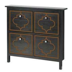Jasmine Single O'verlays Kit for Ikea Hemnes Shoe Cabinet 4 door