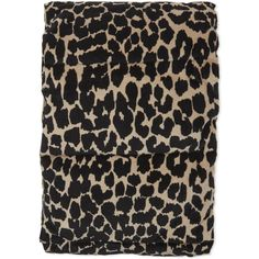 Maje Padded leopard print cotton scarf ($103) ❤ liked on Polyvore featuring accessories, scarves, leopard scarves, woven scarves, leopard print scarves, maje and leopard print shawl