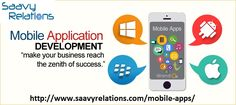 Looking For Mobile App Development Company Delhi NCR? Call Now +91 (989) 965-0199 & Get Quote : info@saavyrelations.com    #mobileapps #appdeveloper #appdevelopment #saavyrelations