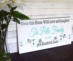 Our Custom Family Established Wooden Signs is 24W X 12H X .75in. HOW TO DISPLAY: Each sign comes with a hook or a rope on the back. Please specify at checkout.  CURRENT TURN AROUND TIME IS 5-7 BUSINESS DAYS from purchase date to ship date. There are no refunds on custom orders. We strive to exceed our customers expectations. Should you not be completely satisfied with your item please contact us and we will find a mutually satisfying solution to the problem.