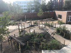 speelheuvel school Primary School, Playground, Patio, Adventure, Landscape, Outdoor Decor, Seeds, Children Playground, Upper Elementary