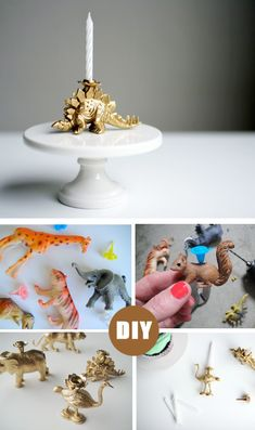 DIY birthday candle