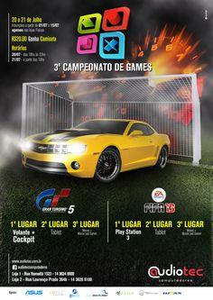 Cartaz Campeonato de Games