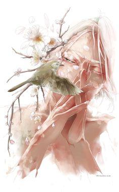 逢うと別れと、告げる鳥