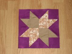 Purple Patchwork Quilting blocks, Twelve quilt blocks, fabric quilt squares, Pattern square, Cotton fabric, ready to make quilts, hand made