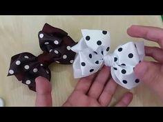 Passo a passo: Laço coração feito com fita de cetim/Diy/Pap* - YouTube