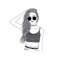 Faye Blackburn ❤ liked on Polyvore featuring drawings, fillers, art, backgrounds, sketches and outline