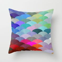 Scales Throw Pillow  by Steven Womack