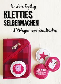 Make your own Ergobag Kletties ✪ with a template to print out - DIY * make Kletties for Ergobag yourself with a template for printing out ENGEL + BANDITEN - Sewing To Sell, Sewing Art, Sewing For Kids, Sewing Machine Projects, Sewing Projects For Beginners, Diy Projects, Sewing Hacks, Sewing Tutorials, Sewing Tips