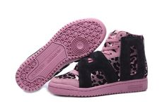 huge discount 302c9 0b9c1 Discover the Adidas Jeremy Scott Women Black Pink Authentic collection at  Pumaslides. Shop Adidas Jeremy Scott Women Black Pink Authentic black,  grey, ...