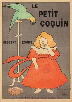 Le Petit Coquin par Leonetto Capiello 1901 38 1/2 x 54 3/8 in Available soon at Veronica Martin Gallery, Bantam, CT