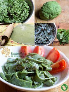 Kuchařka ze Svatojánu Green Beans, Spinach, Pasta, Meat, Vegetables, Cooking, Recipes, Foods, Salvia