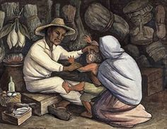 Diego Rivera, The Healer 1943