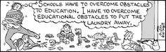 Ah, the obstacles. Wouldn't trade them!