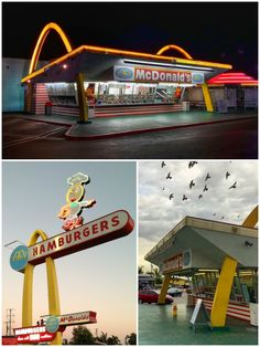 Discover some of the city's flashiest drive-in diners, gas stations and coffee…