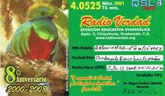 QSL Radio Verdad - Guatemala