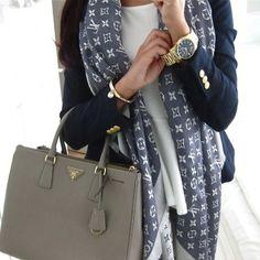 Louis Vuitton scarf ❤