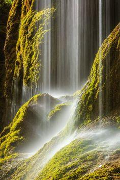 waterfalls in southern Bavaria.