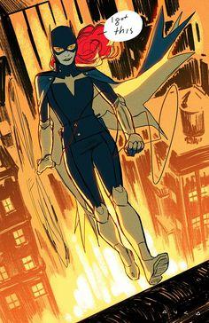 Batgirl by Kris Anka