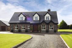 Image result for dormer bungalow ireland Dormer Bungalow, House Plans, Ireland, Houses, Cabin, Mansions, House Styles, Image, Home Decor