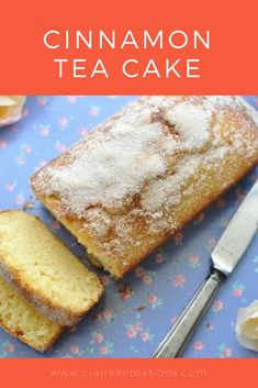 If you're looking for a recipe for cinnamon tea cake look no further. This is one of the simplest and most delicious tea cakes you'll ever make. Cinnamon Recipes, Baking Recipes, Cake Recipes, Cinnamon Rolls, Tea Cakes, Cupcake Cakes, Cupcakes, Bundt Cakes, English Cake Recipe