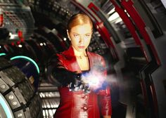 Kristanna Loken images, portraying the T-X in Terminator 3: Rise of the Machines.