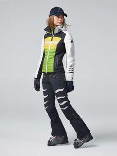 Ski Fashion, Fashion Women, Winter Fashion, Fashion Outfits, Ski Bunnies, Pantalon Ski, Team Jackets, Ski Wear, Brad Pitt