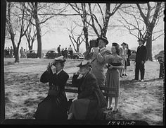 (Image: Photo, Camera bugs snapping the cherry blossoms across the Tidal Basin. Cherry Blossom Festival, Washington, D.C., May 1941, Martha McMillan Roberts, Library of Congress, http://hdl.loc.gov/loc.pnp/fsa.8b15096 ) What do the cherry trees of DC tell us about the history of U.S./Japan relations? Click to take a quiz from Teachinghistory.org and find out!