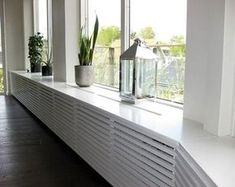 Very discrete radiator grill for dressing table? Home Upgrades, Style At Home, Home Radiators, Wood Cladding, Radiator Cover, Interior Decorating, Interior Design, Living Room Inspiration, My New Room