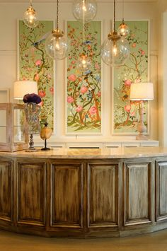 WOW! Love this! Wallpaper Panel Inspiration:  Plans for the Living Room (*Updated!*)