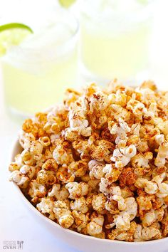 All you need to make good old popcorn much less boring is taco seasoning. Get the recipe here.