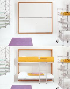 1000 images about murphy bunks on pinterest murphy bunk beds bunk bed and wall beds - Hideable furniture ...
