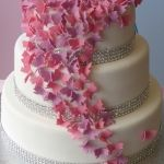 Wedding Cakes - butterfly-cake