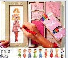 the 80's Fashion Plates